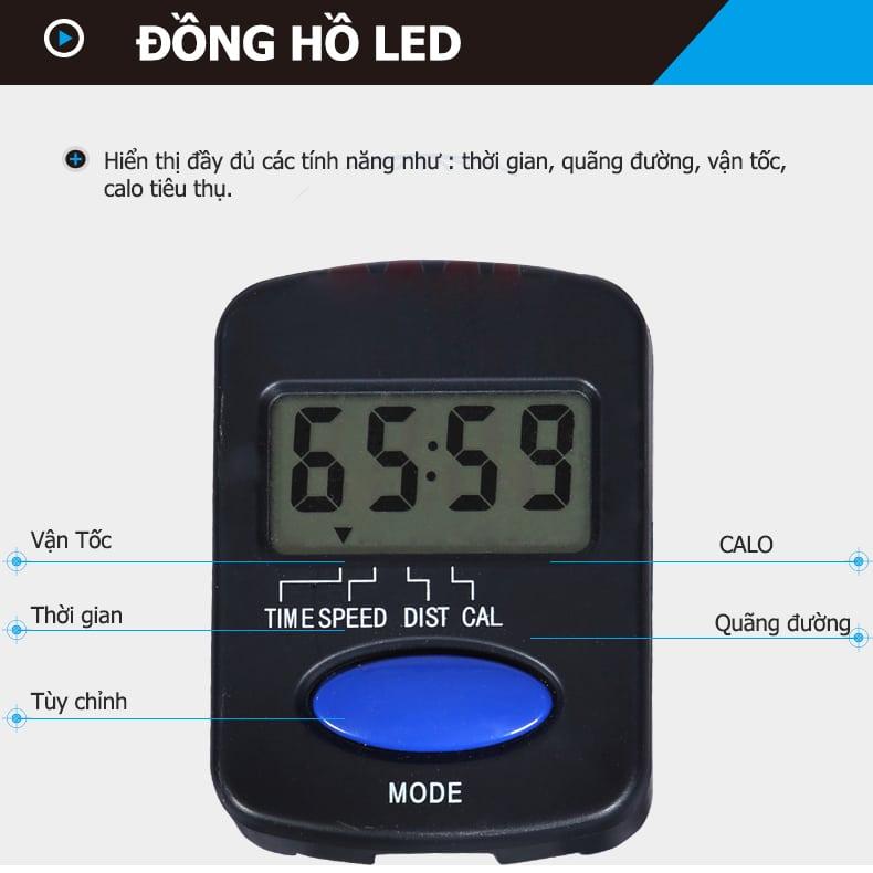 Đồng hồ LED của Xe Đạp Tập iBike 4000