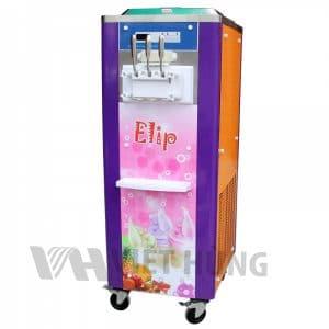 Máy làm kem Tươi elip 719 có2 lốc chứa kem, mỗi lốc có dung tích lớn đến6 lít