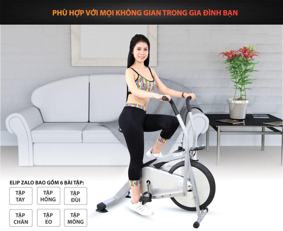 xe đạp thể dục AirBike