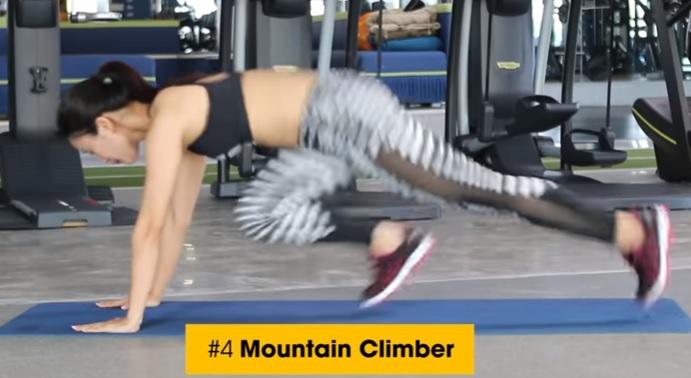 Cardio động tác Mountain Climber
