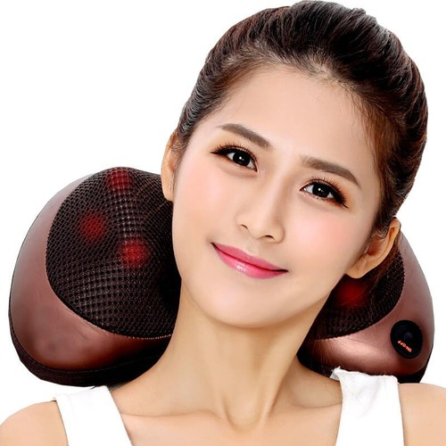 Gối massage hồng ngoại
