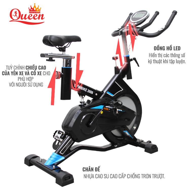 xe đạp tập spinbike-3000
