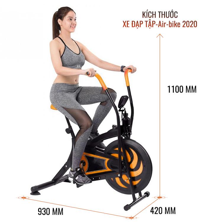 xe đạp thể dục oibike 2020