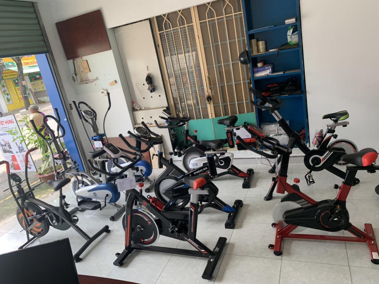 Cửa hàng bán xe đạp tập thể dục tại thuận an bình dương