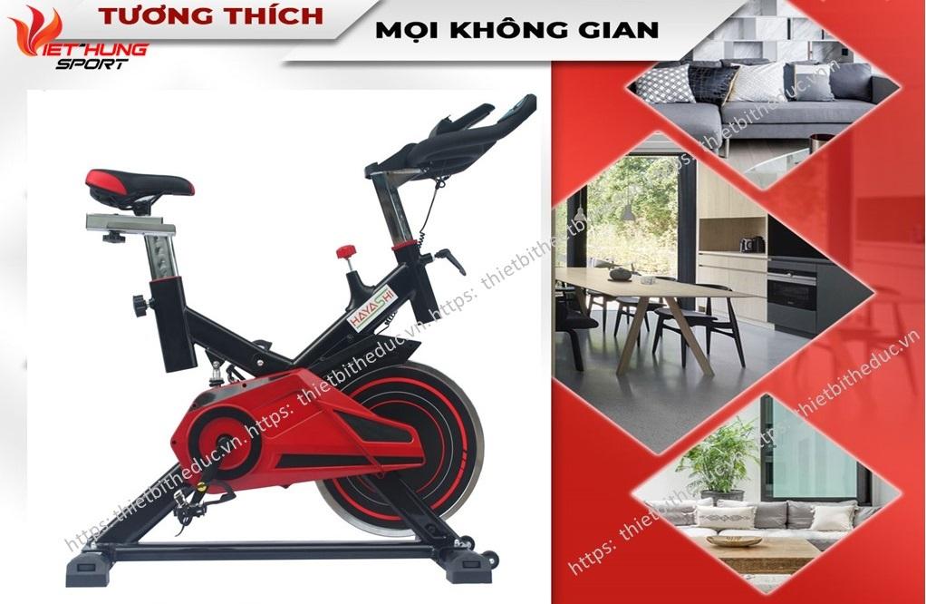 xe đạp hbike-thietbitheduc.vn
